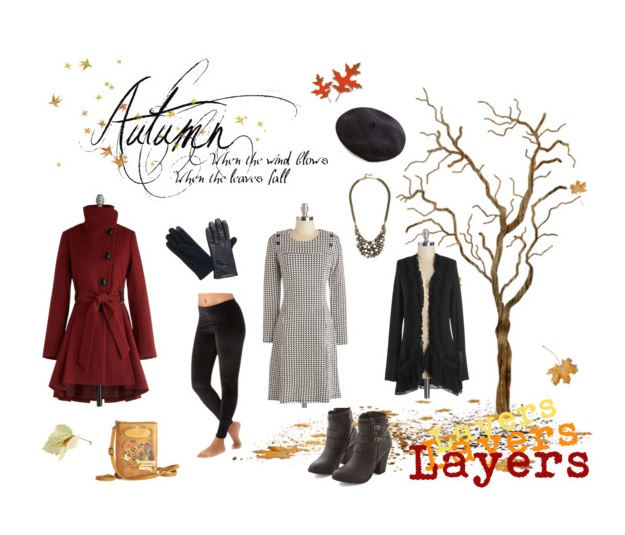 polyvore modcloth fall layering challenge