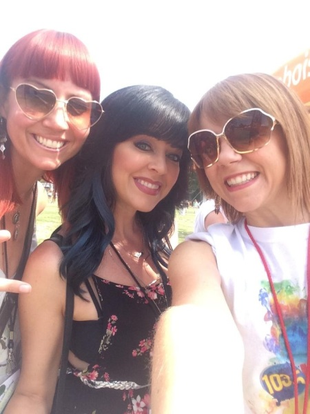 Selfie with Ammo and Kiss 103.5 FM's beloved DJ Michelle Heart!