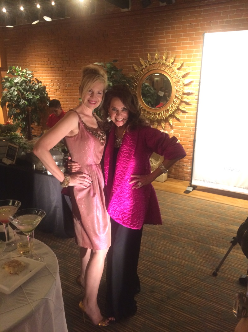 Angie and Cyndee, beautiful babes inside and out!