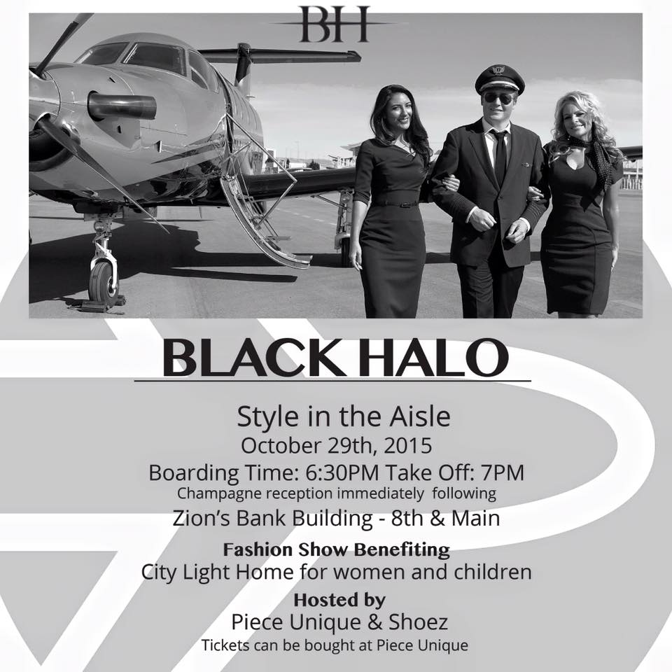 black halo fashion show
