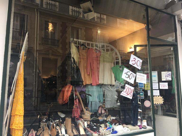 vente depot designer thrift store paris