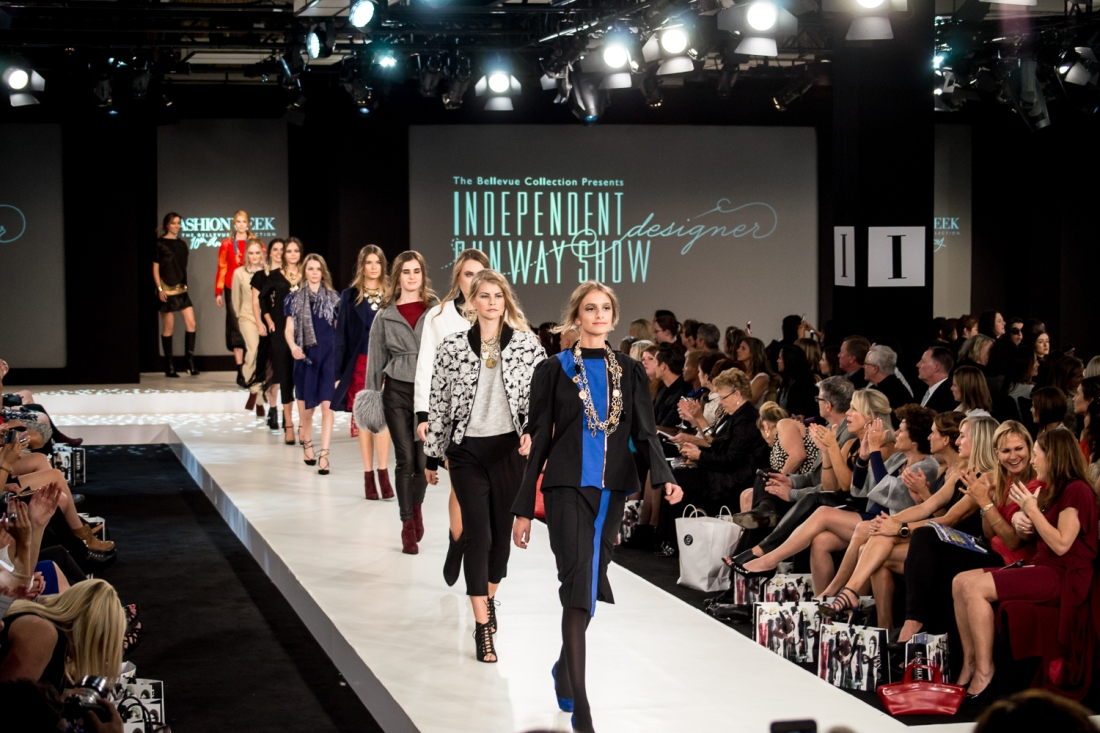 bellevue fashion week runway show