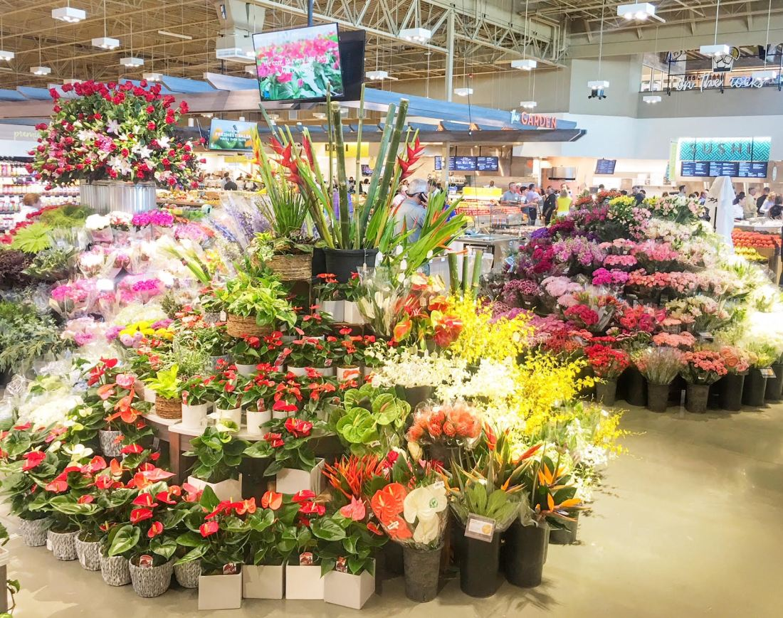 albertsons grand opening floral department